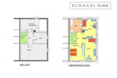 Doppelhaus in Schwabach Keller + Obergeschoss