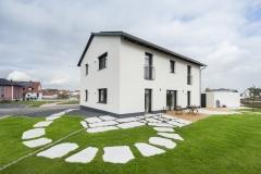 Außensicht Einfamilienhaus in Ansbach