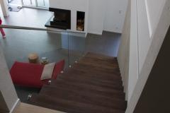 Freischwebende Treppe von oben